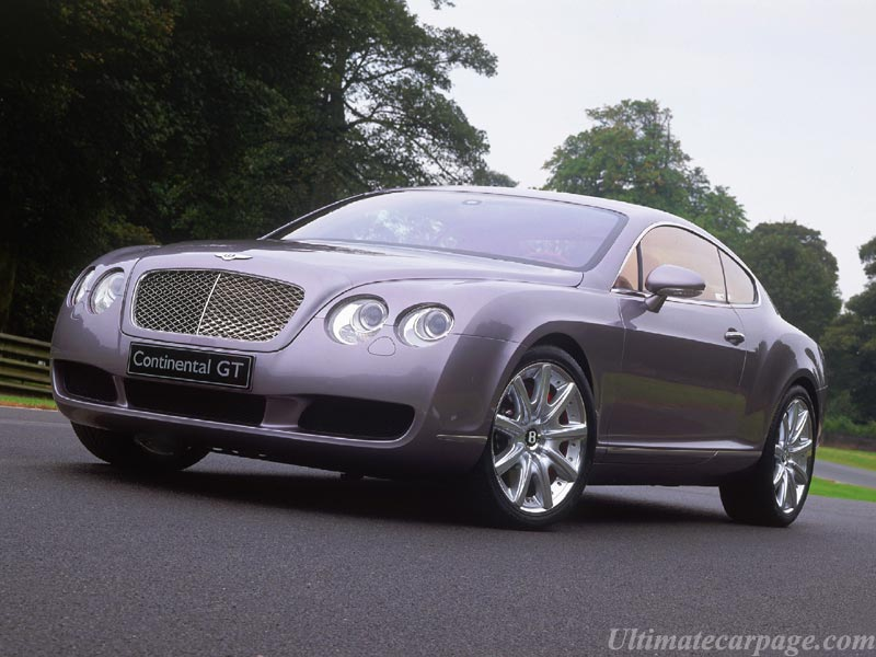 Bentley Continental Gt High Resolution Image 7 Of 12