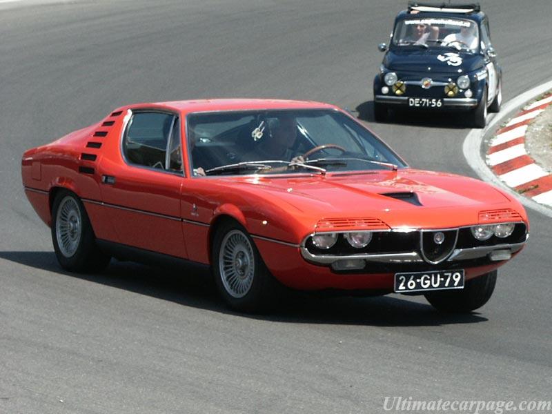 Alfa Romeo Montreal Street Car
