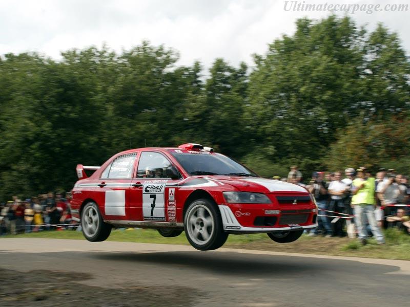 Mitsubishi Lancer Evo VII WRC2 High Resolution Image (6 of 12)