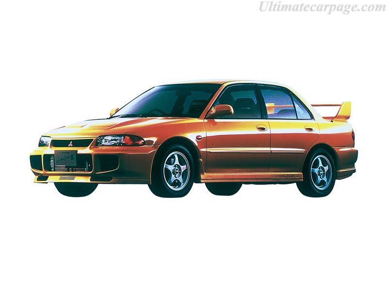Mitsubishi Lancer EVO III GSR High Resolution Image 1 Of 4