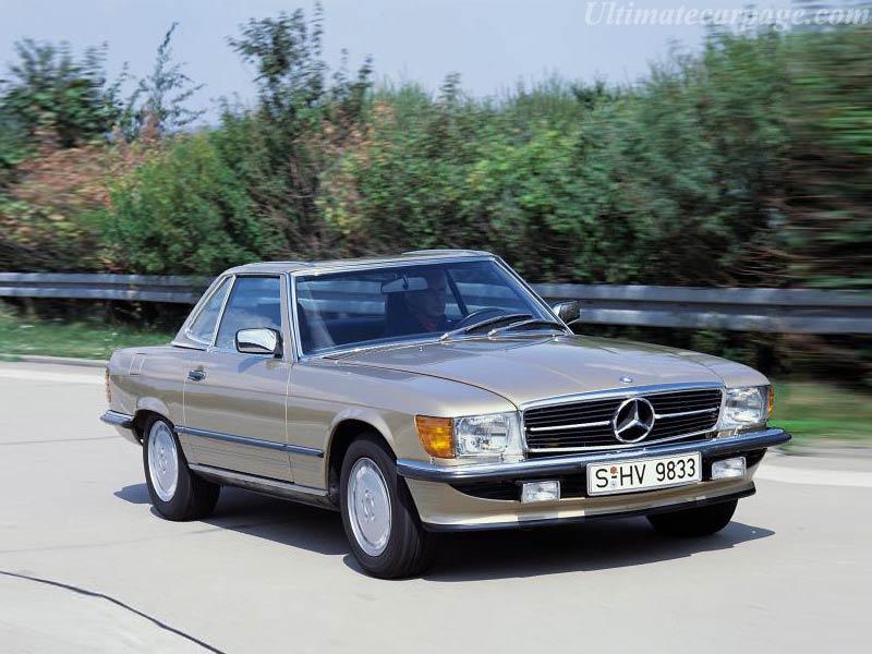 Mercedes Benz 560 Sl High Resolution Image 2 Of 4
