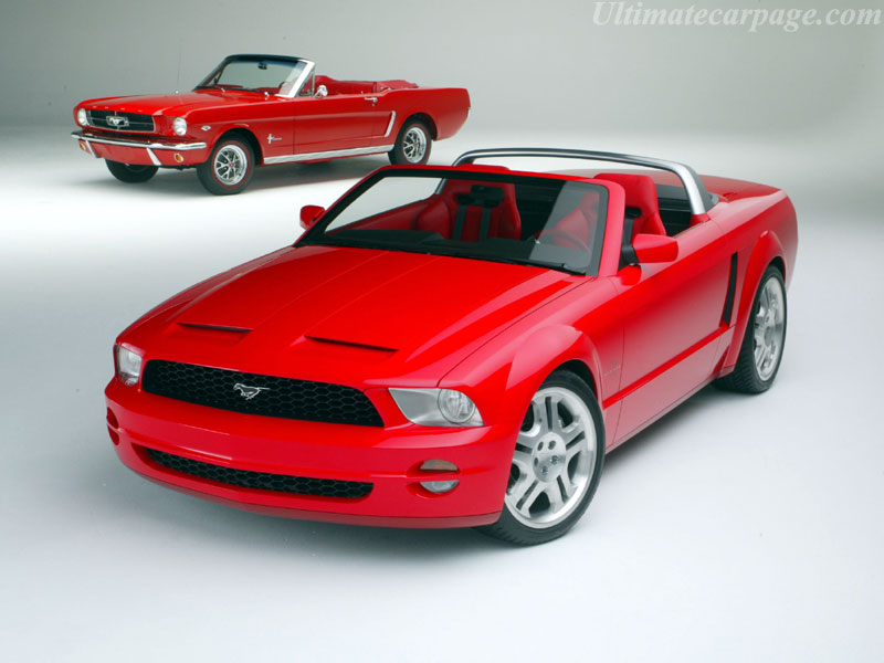 Ford Mustang Concept 2017 >> Ford Mustang GT Convertible Concept High Resolution Image ...