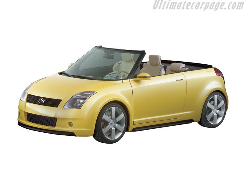 suzuki swift cabrio concept s2. Black Bedroom Furniture Sets. Home Design Ideas