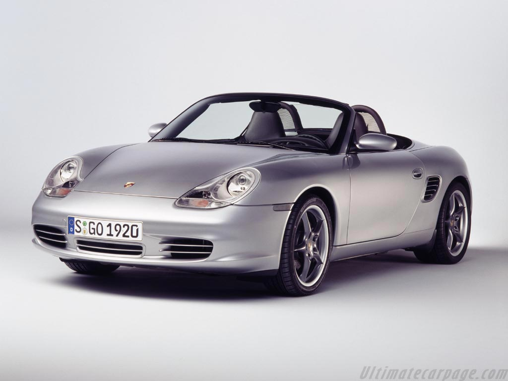 Porsche 986 Boxster S 50th Anniversary High Resolution