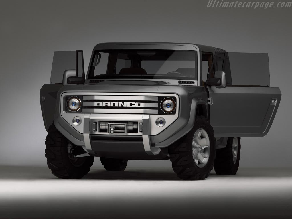 Ford bronco concept high resolution image 6 of 12