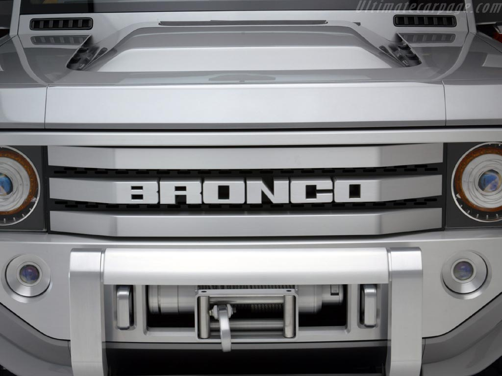 Ford Bronco Concept High Resolution Image (7 of 12)