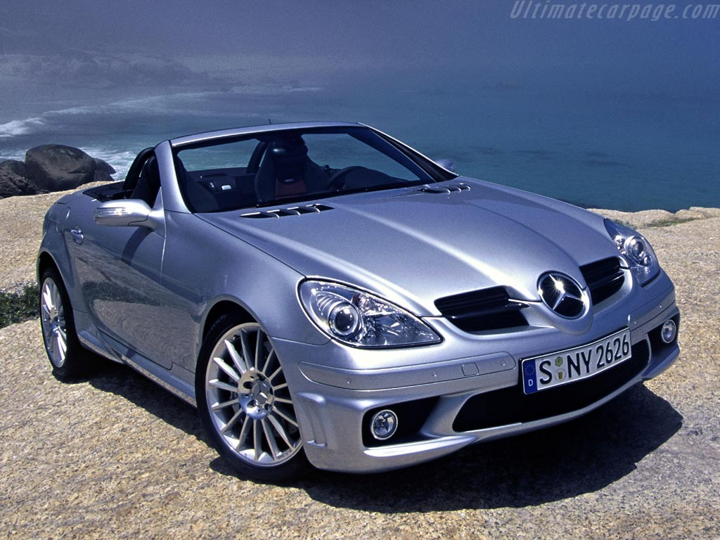 mercedes benz slk 55 amg high resolution image 4 of 6. Black Bedroom Furniture Sets. Home Design Ideas