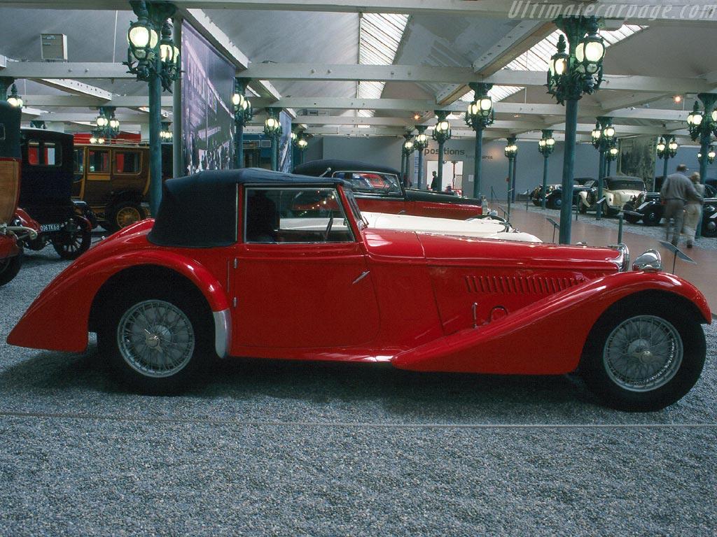 Bugatti Type 57 S Vanden Plas Drophead Coupe High Resolution Image (2 ...