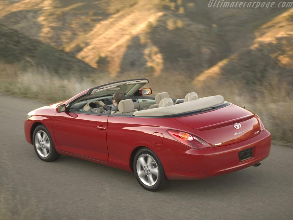 Toyota Camry Solara Convertible High Resolution Image 2 Of 6