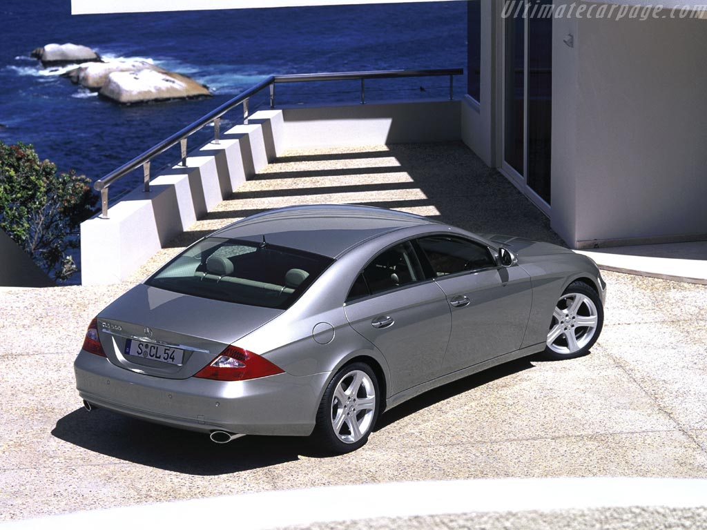 Mercedes benz cls 500 high resolution image 2 of 4 for Mercedes benz cls 500 precio