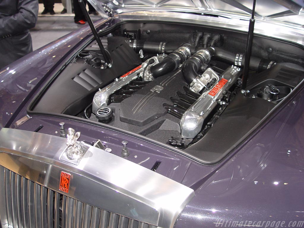 The V16 in the 100EX  RollsRoyce and Bentley Forums