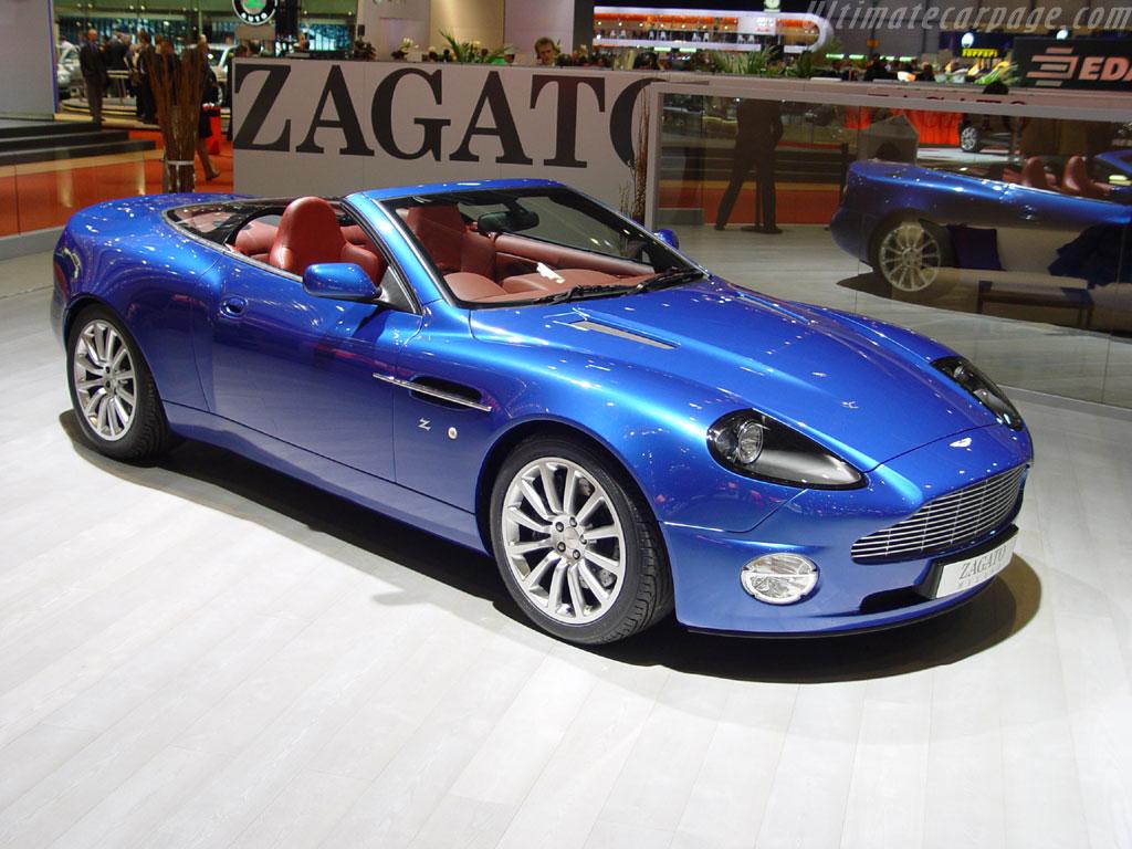 Aston Martin Vanquish Zagato Roadster High Resolution ...