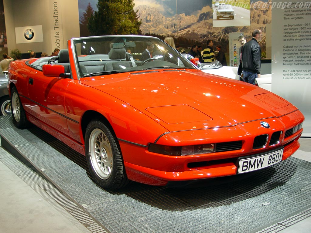 91 Bmw 850ci The Convertible That Was Never Built