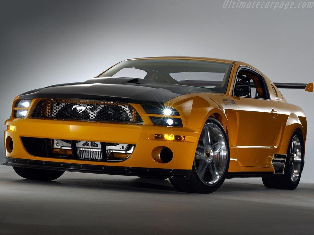 video foto coche mustang: