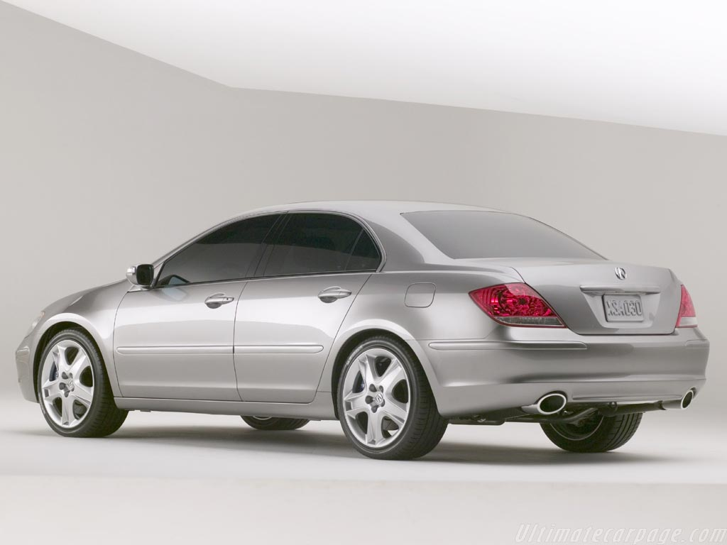 Acura RL Prototype High Resolution Image (3 of 6)