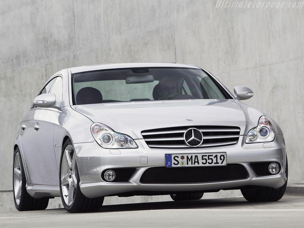Mercedes Benz CLS 55 AMG
