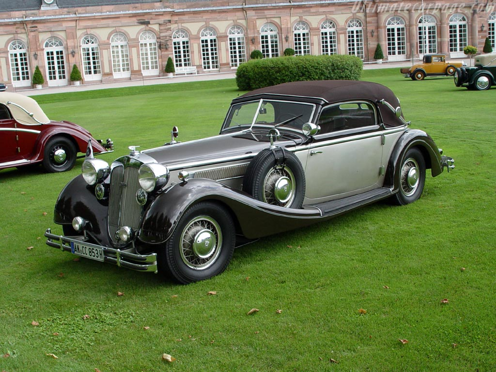 Horch 853 A Cabriolet