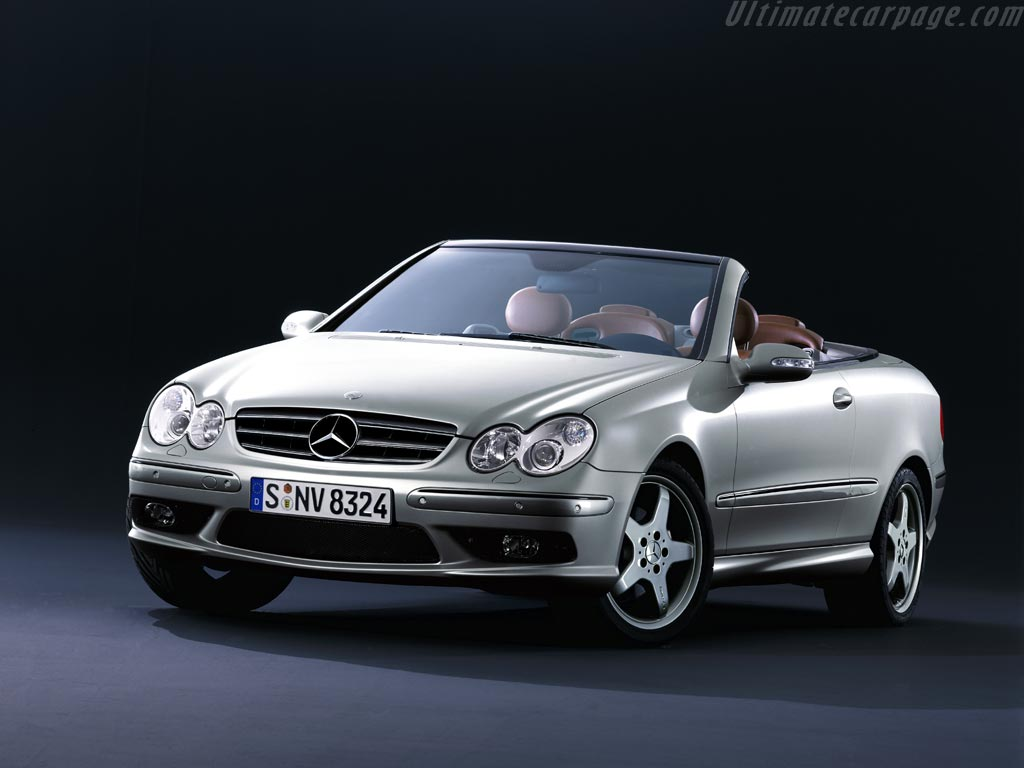 mercedes benz clk 500 cabriolet 39 giorgio armani 39 high resolution image 1 of 4. Black Bedroom Furniture Sets. Home Design Ideas