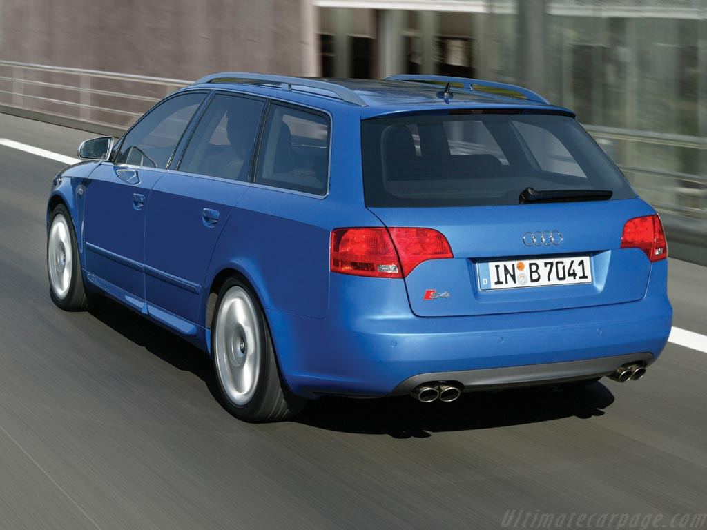 Audi S4 Avant High Resolution Image (6 of 6)