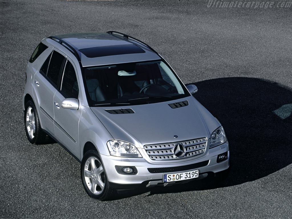 Mercedes benz ml 350 high resolution image 4 of 6