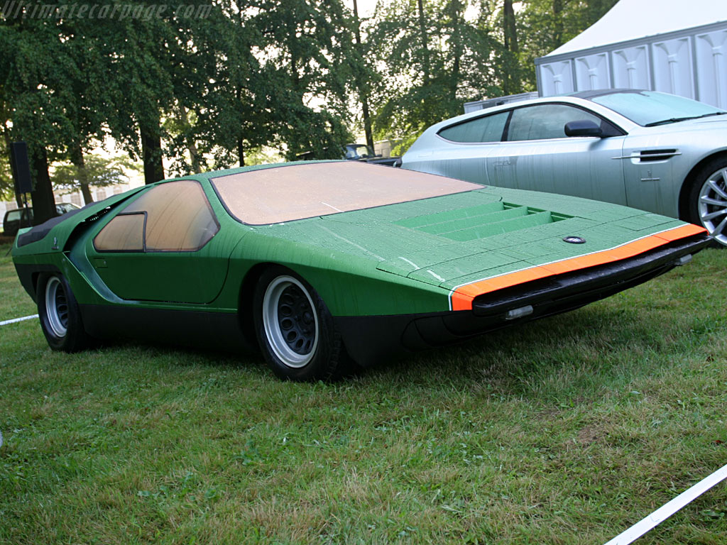Alfa Romeo Carabo Concept High Resolution Image 2 Of 6