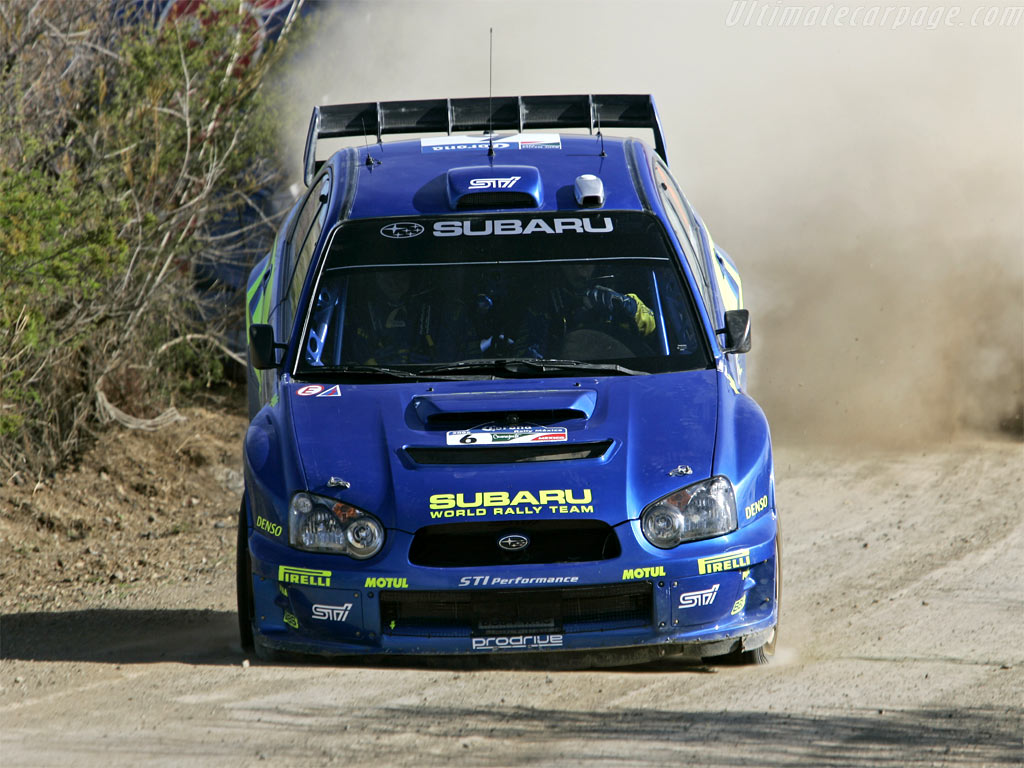 Subaru Impreza Wrc 2005 High Resolution Image 10 Of 12