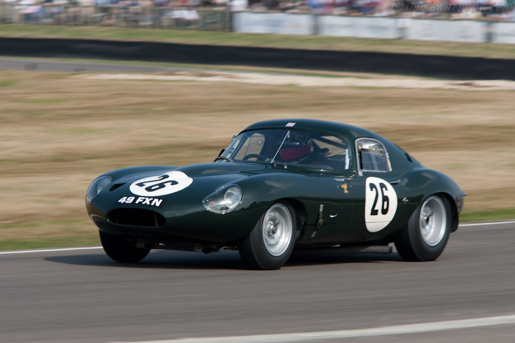 Car Image S >> Jaguar E-Type Lightweight Low Drag Coupe (s/n S850663 - 2009 Goodwood Revival) High Resolution ...