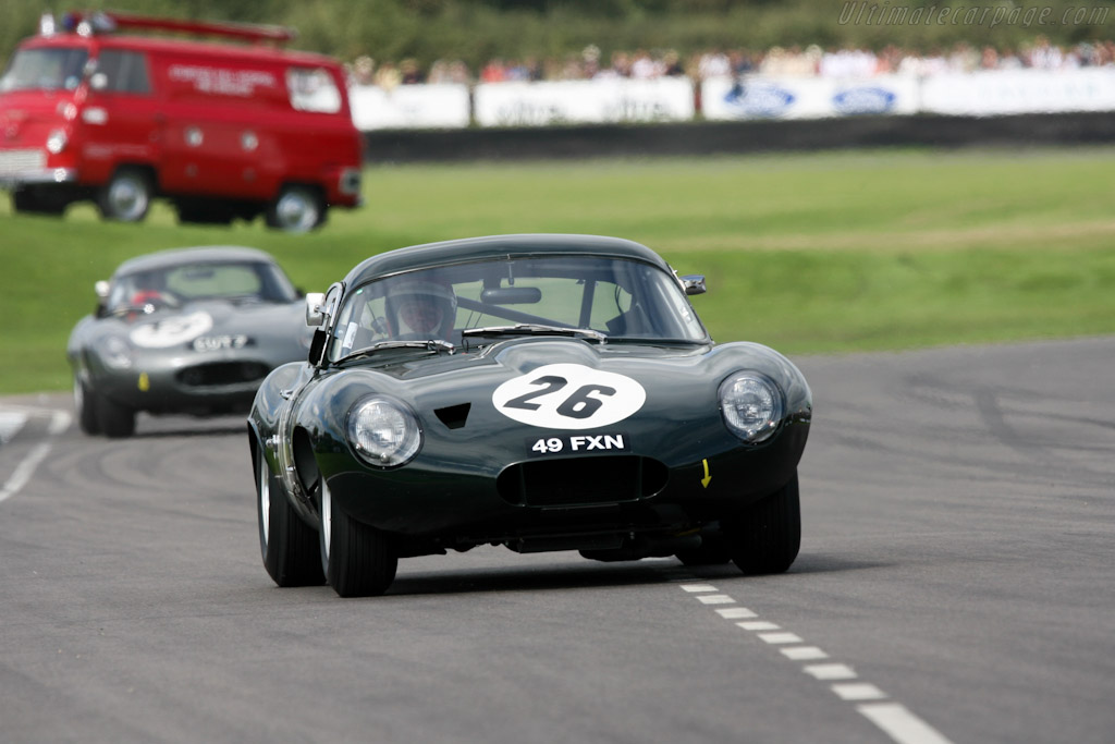 Jaguar E-Type Lightweight Low Drag Coupe (s/n S850663 - 2007 Goodwood Revival) High Resolution ...
