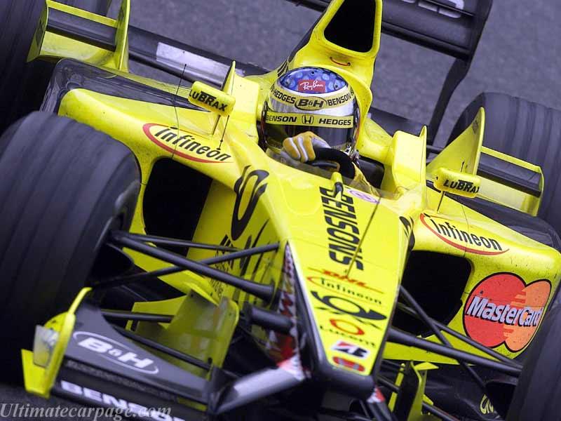 Jordan, equipe historica de Formula 1 de 2001 - ultimatecarpage.com