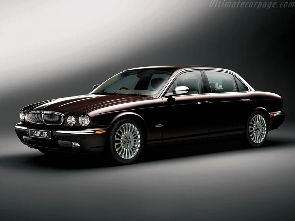 Эксклюзивный Jaguar Daimler Super Ei…