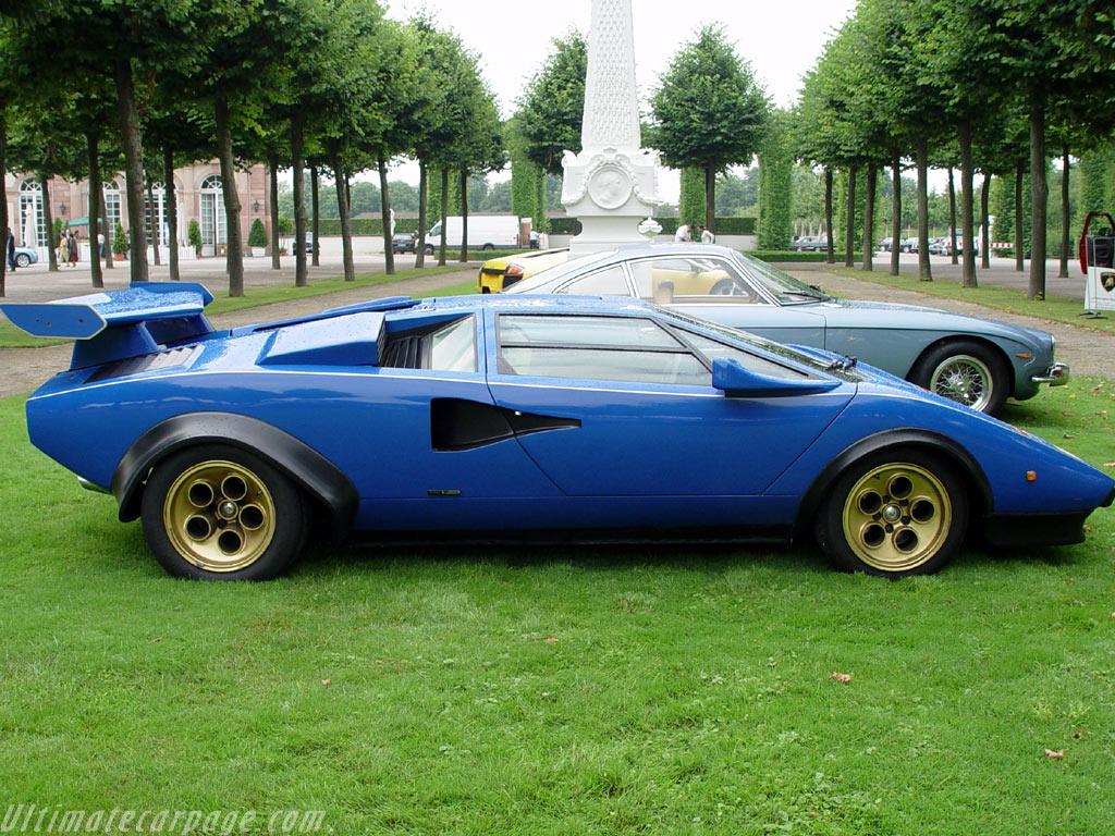 Lamborghini Countach Lp400 Prototipo High Resolution Image