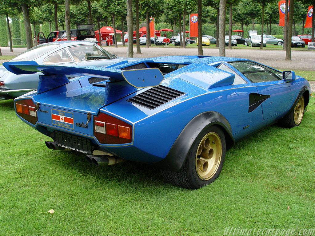 Lamborghini Countach Lp400 Prototipo High Resolution Image