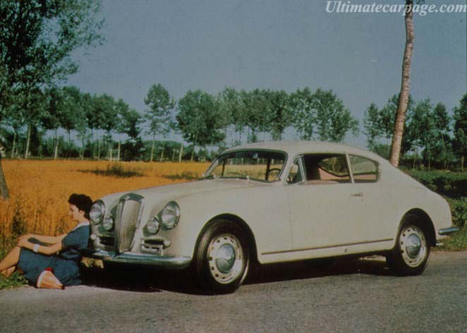1950 Lancia Aurelia B10. 1951-1958 Lancia Aurelia