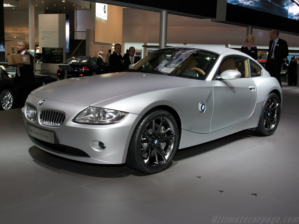 Bmw Z4 Coupe Concept High Resolution Image 1 Of 12