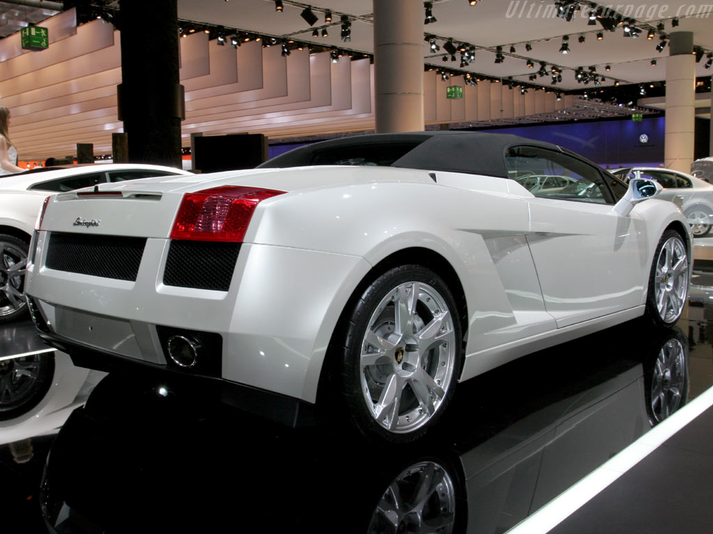 Lamborghini Gallardo Spyder High Resolution Image 4 Of 6