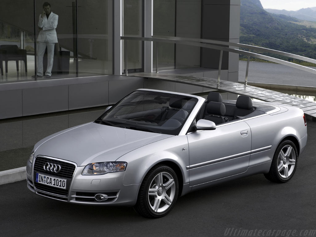 Audi A4 Cabriolet High Resolution Image (3 of 6)