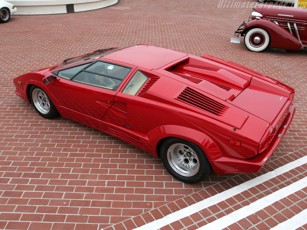 Lamborghini Countach 25th Anniversary High Resolution