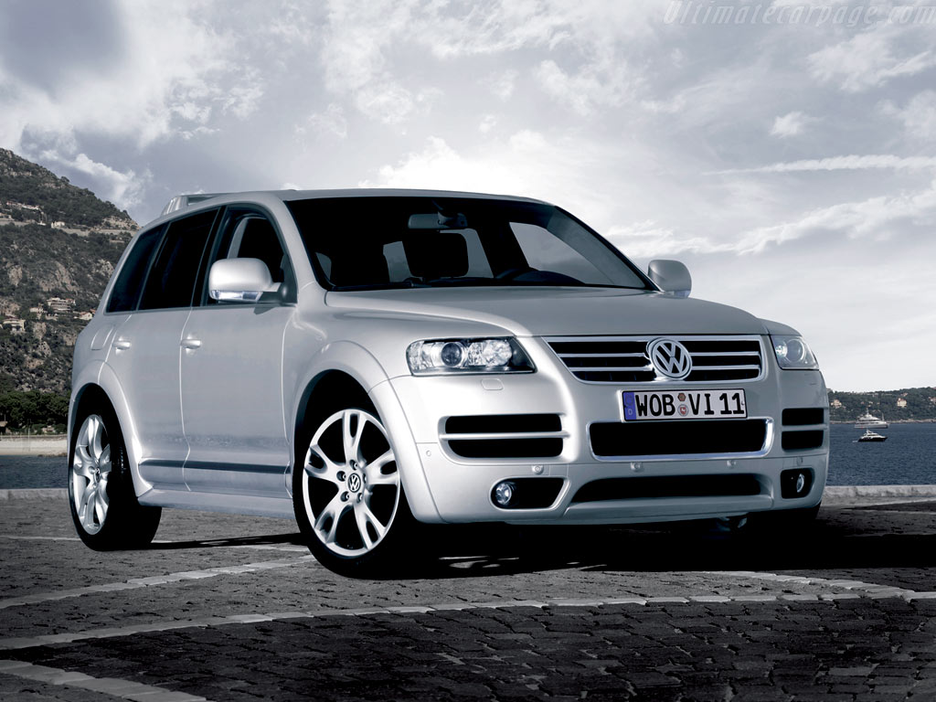 volkswagen touareg w12 sport high resolution image 1 of 6