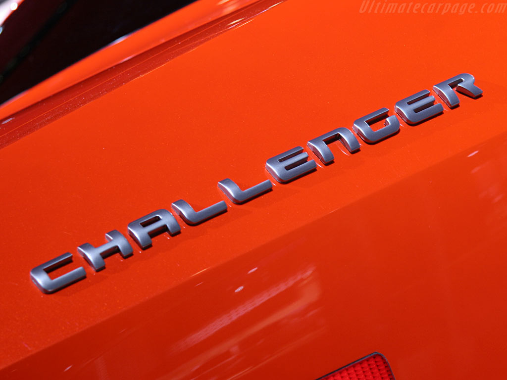 Dodge Challenger Concept High Resolution Image 8 Of 18