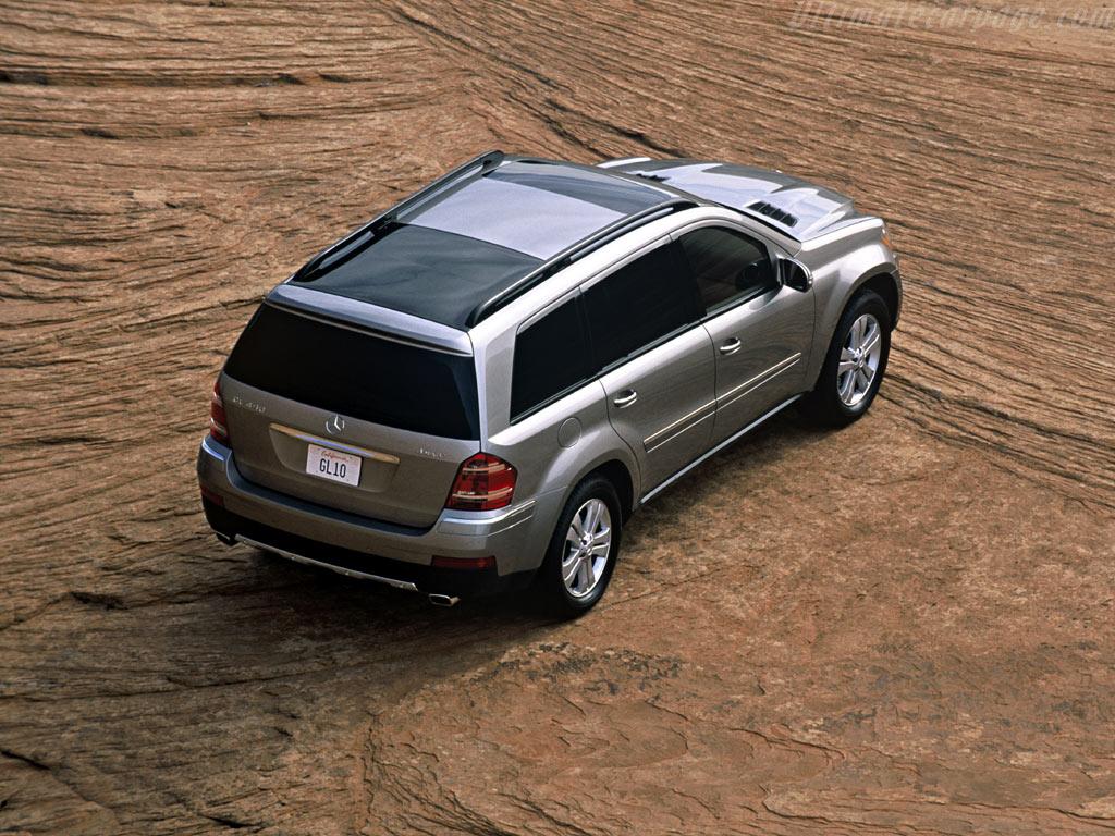 Mercedes Benz Gl 500 High Resolution Image 4 Of 6
