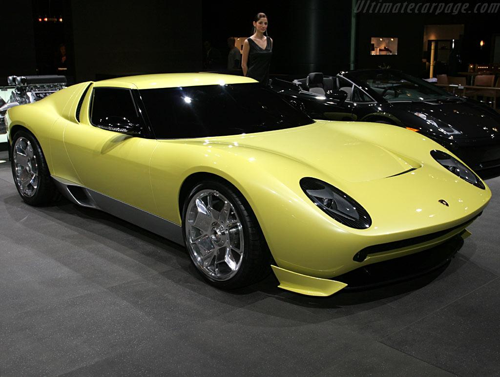 Lamborghini Miura Concept High Resolution Image 1 Of 12