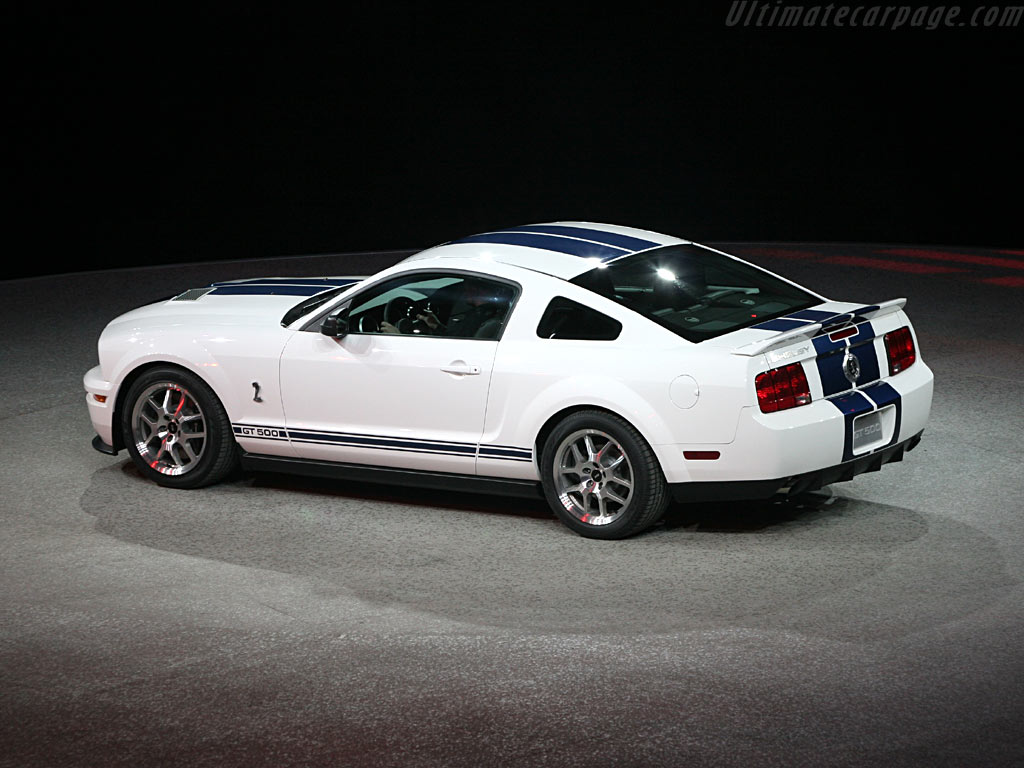 Ford Shelby Mustang GT500 Coupe High Resolution Image (3 ...