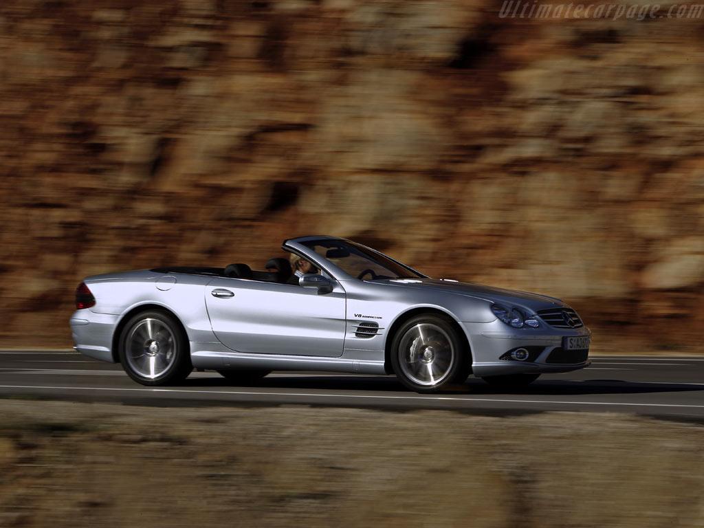 Mercedes benz sl 55 amg high resolution image 2 of 6 for Mercedes benz sl 55 amg