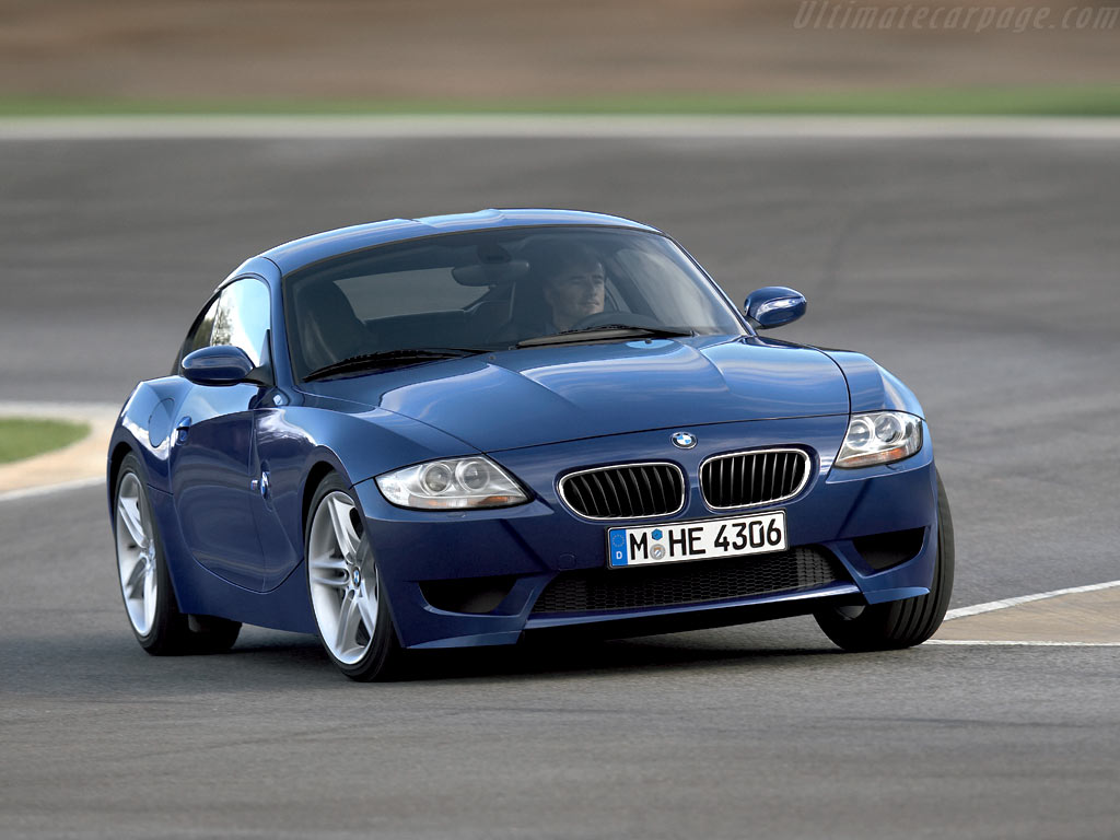 Bmw Z4 M Coupe High Resolution Image 2 Of 6