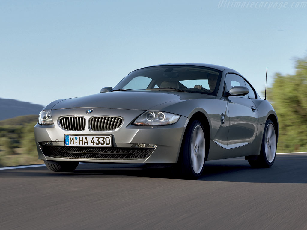Bmw Z4 Coupe High Resolution Image 2 Of 6