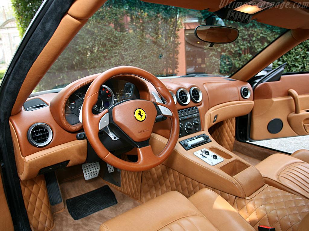 Zagato ferrari 575 gtz for Interieur de voiture en cuir