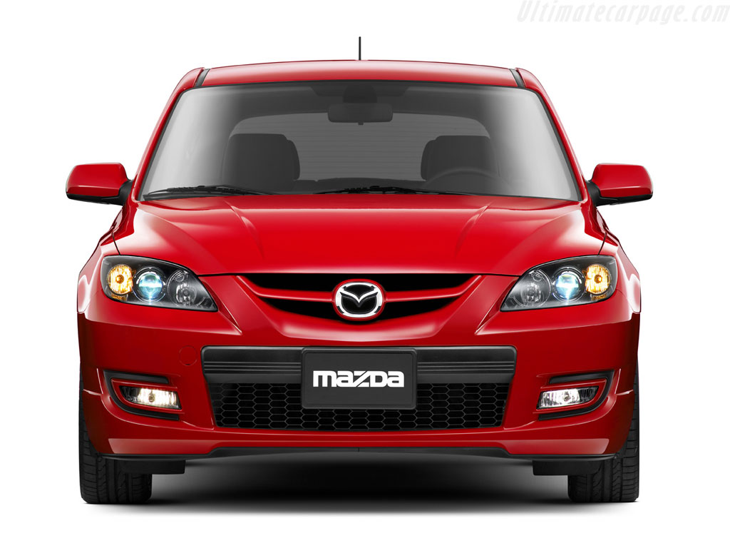 Mazda Mazdaspeed 3 High Resolution Image (3 of 6)
