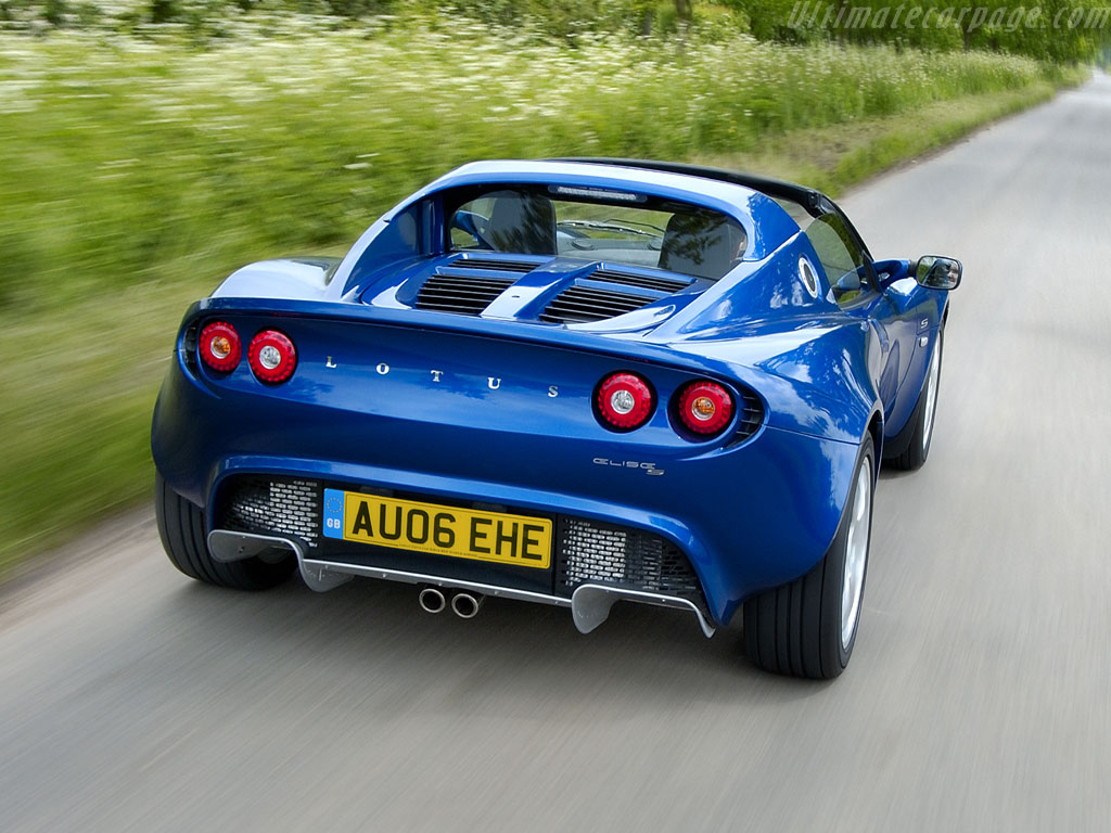 Lotus Elise S2 S High Resolution Image 4 Of 12