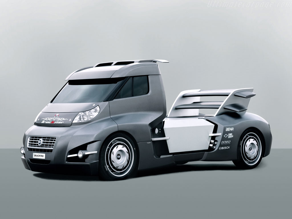 Fiat Ducato Truckster Concept High Resolution Image 1 Of 1