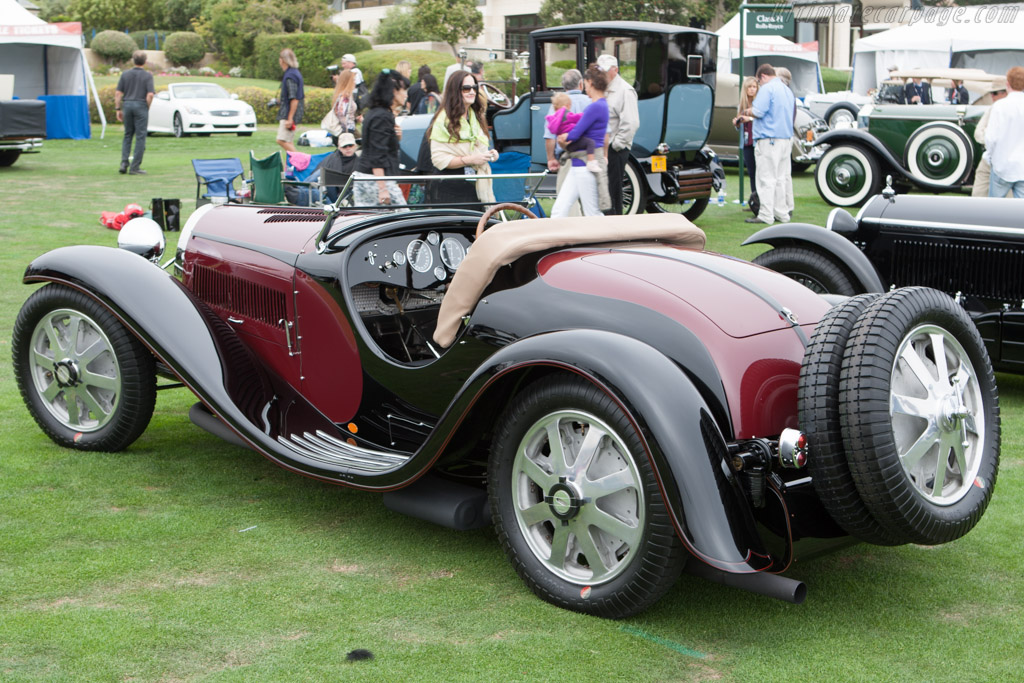 bugatti type 55 roadster (s/n 55201 - 2012 pebble beach concours d